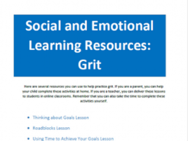 ACT SEL Skill Building: Grit
