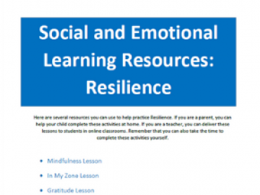 ACT SEL Skill Building: Resilience