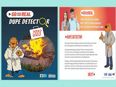 Go For Real —  Teach Students About the Risks of Counterfeit and Fake Products