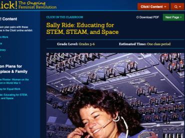 Sally Ride: Educating for STEM, STEAM, and Space