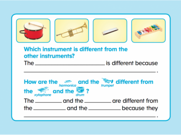 ABCmouse Logic Puzzles: Instruments