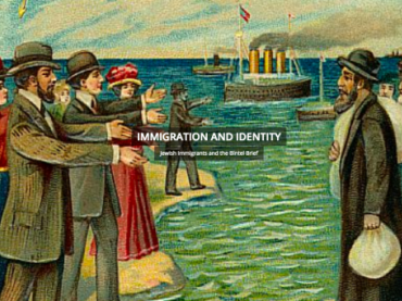 Immigration and Identity: Connecting Past and Present with the Bintel Brief