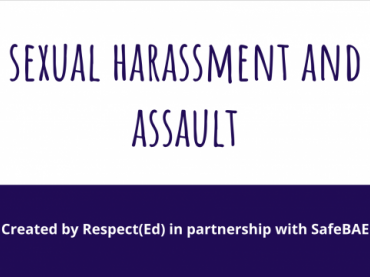 SafeBAE Sexual Harassment and Assault Presentation