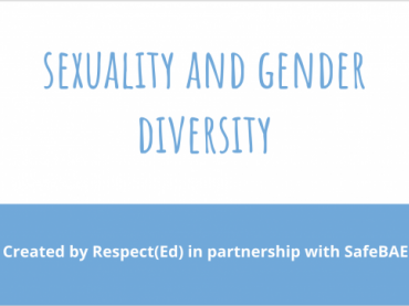 SafeBAE Sexuality and Gender Diversity Presentation