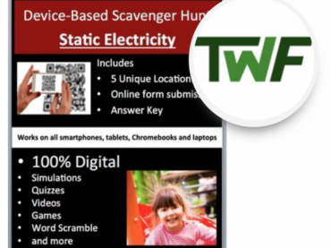 Static Electricity - Device-Based Scavenger Hunt Activity