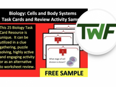 Biology: Cells and Body Systems Task Cards and Review Activity