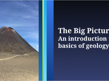 The Big Picture: An Introduction to the Basics of Geology