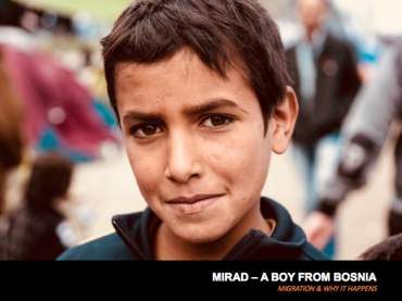 MIGRATION & WHY IT HAPPENS  - 'Mirad a Boy from Bosnia'