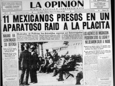 Expulsions of Mexicans and Mexican Americans During the Great Depression