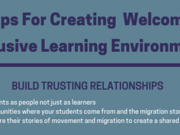 Five Steps for Creating Welcoming and Inclusive Learning Communities
