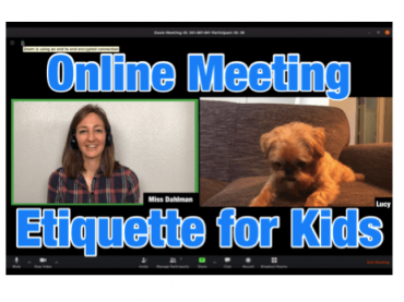 Online Meeting Etiquette for Kids