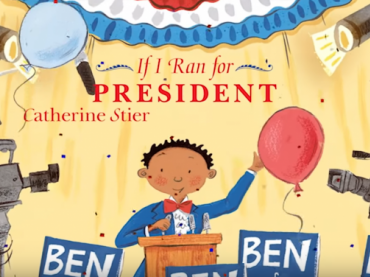 If I Ran For President read by Lonnie Chavis, Parker Bates and Mackenzie Hancsicsak