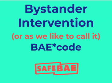 Bystander Intervention (BAE code)