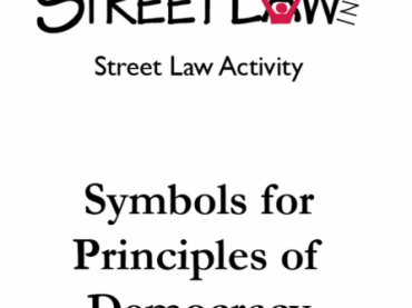 Symbols for Principles of Democracy Introductory Lesson