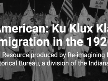 The KKK and Immigration in the 1920's