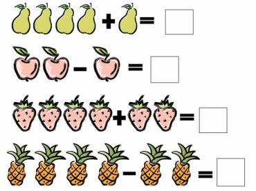 Addition and subtraction handout