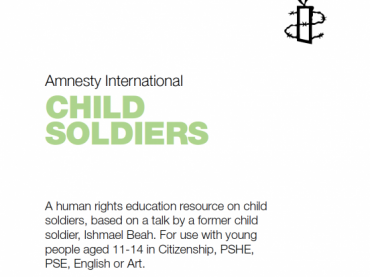 Human rights education: Child Soldiers