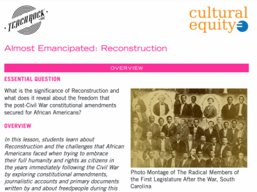 ALMOST EMANCIPATED: RECONSTRUCTION