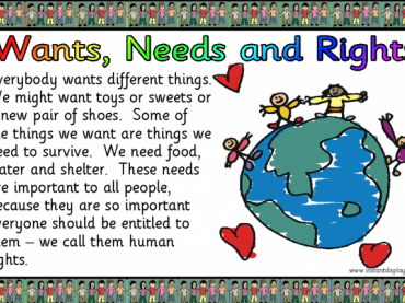UN Rights of a Child Posters