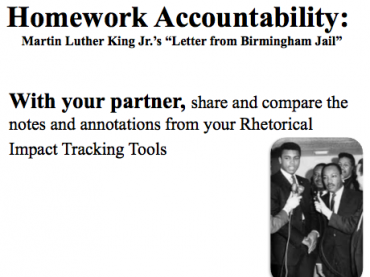"ELA MODULE 10.2.1 ""LETTER FROM BIRMINGHAM JAIL"" BY MARTIN LUTHER KING, JR. Part 2"