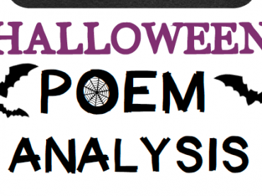 Halloween Poem Analysis Flip Book