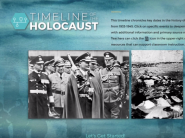 Timeline of the Holocaust 1933-1945