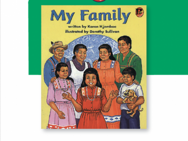 My family book cover