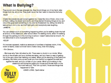 How to Think About Bullying