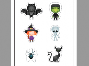 Share My Lesson Halloween Posters and Stickers