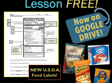 Food Label Reading: Is This Product Healthy? Now on GOOGLE SLIDES!