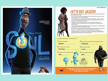 Disney & Pixar's Soul -- activities on jazz & self-discovery