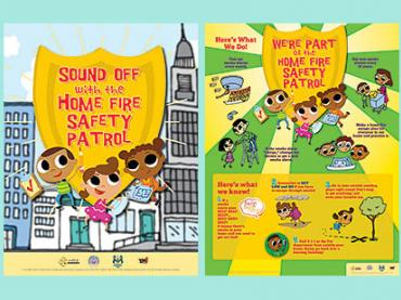 Sound Off with the Home Fire Safety Patrol