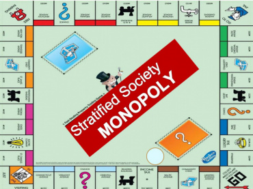 Monopoly in a Stratified Society using the digital model of digital games from digital Monopoly
