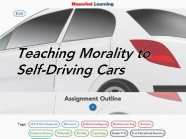 Teaching Morality to Self-Driving Cars