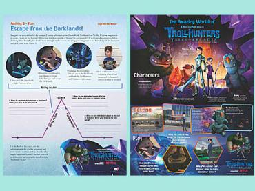 Storytelling with award-winning Trollhunters series