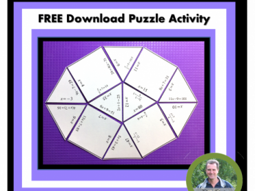 Solving Two Step Equations FREE puzzle