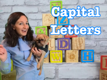 Capital Letter Lesson for Kids