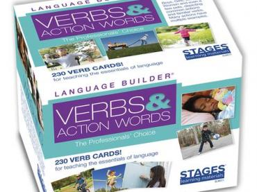 Stages Learning Verb Cards