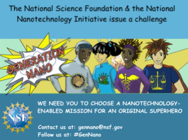 Generation Nano: Small Science, Superheroes Competition