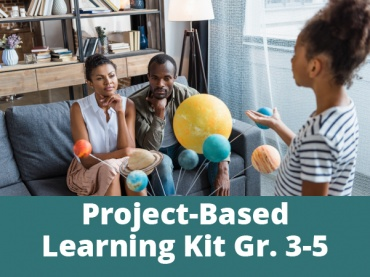 Project-Based Learning Kits for Distance Learning: We Are All Connected for Grades 3-5
