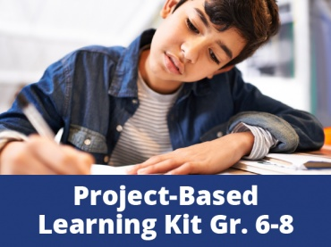 Project-Based Learning Kits for Distance Learning: The Power of Story in a Changing World for Middle School