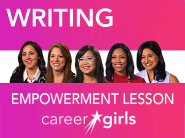 Developing Writing Skills: Video-Based Empowerment Lesson