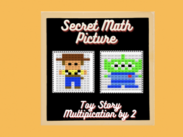 Math Mystery Picture || Multiplication by 2 || Math Worksheets.