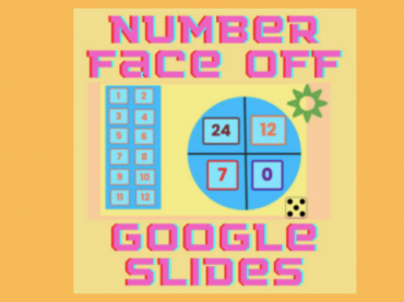 GOOGLE SLIDES MATH GAMES || NUMBER FACE OFF || ALL OPERATIONS