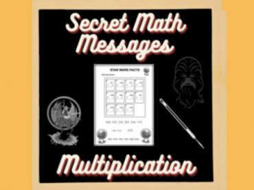 MATH SECRET MESSAGE || Math Worksheets|| STAR WARS
