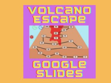 GOOGLE SLIDES MATH GAMES || VOLCANO ESCAPE || ADDITION AND SUBTRACTION