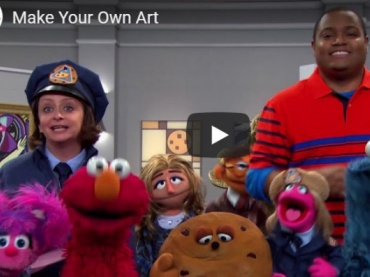 Sesame Street in Communities: Virtual Resources on Art