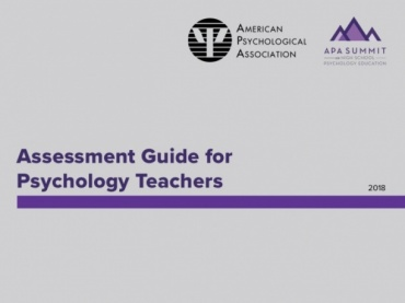 Assessment Guide for Psychology Teachers
