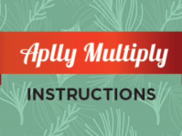 Free Printable Christmas Multiplication Game: APPLY MULTIPLY