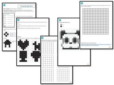 Hour of Code Task - Drawing algorithms